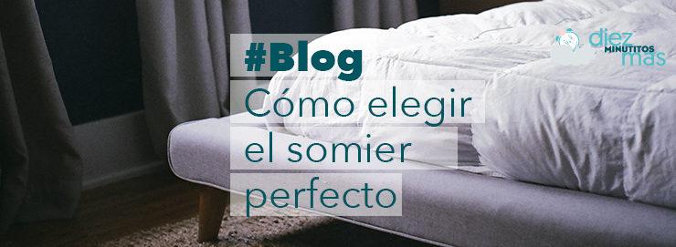 Elegir el mejor somier para el colchón, ¿cuál es el mejor?